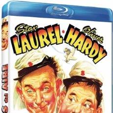 Cine: LOCOS DEL AIRE (BLU-RAY DISC BD PRECINTADO) STAN LAUREL Y OLIVER HARDY EL GORDO Y EL FLACO. Lote 105436871
