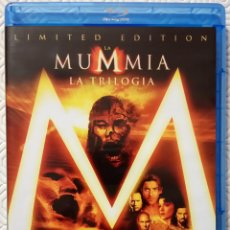 Cine: PACK TRILOGIA LA MOMIA EDICION LIMITADA DE STEPHEN SOMMERS, ROB COHEN 3 BLURAYS. Lote 105991211