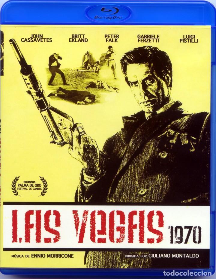 LAS VEGAS 1970 (BLU-RAY DISC BD) JOHN CASSAVETES - BRITT EKLAND - PETER FALK (COLOMBO) (Cine - Películas - Blu-Ray Disc)