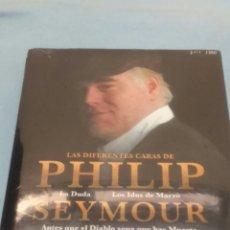 Cine: 3 BDS + 1 DVD. PACK LAS DIFERENTES CARAS DE P. S. HOFFMAN. 4 PELICULAS. PRECINTADO.. Lote 110040196