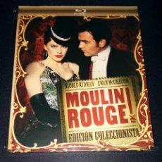 Cine: MOULIN ROUGE BLURAY EDICIÓN COLECCIONISTA DIGIBOOK LIBRO DVD COMBO DESCATALOGADO. Lote 110075119