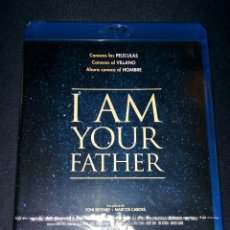 Cine: I AM YOUR FATHER 2015 BLURAY DAVID PROWSE DOCUMENTAL DOCUMENTARY STAR WARS DARTH VADER BLU. Lote 110151435