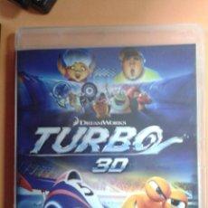 Cine: TURBO. BLU RAY 3D. Lote 110447747