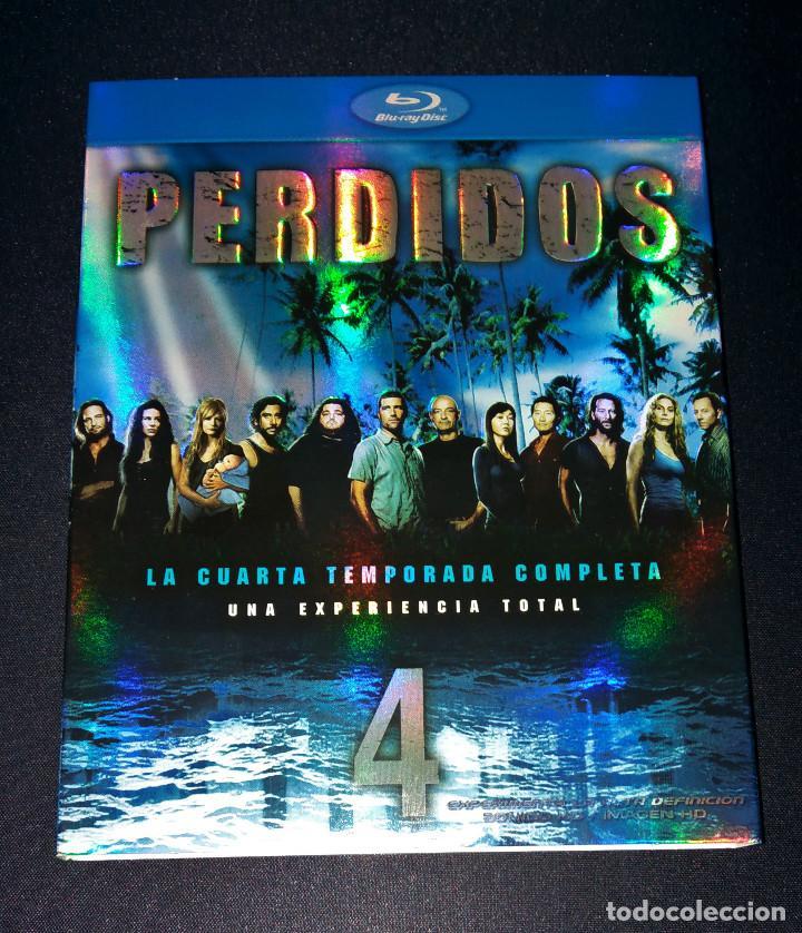 Cine: Perdidos (Lost) FUNDAS sin cajas ni discos Temporadas 4 5 Bluray Blu-ray Blu ray funda slipcover - Foto 2 - 110752379