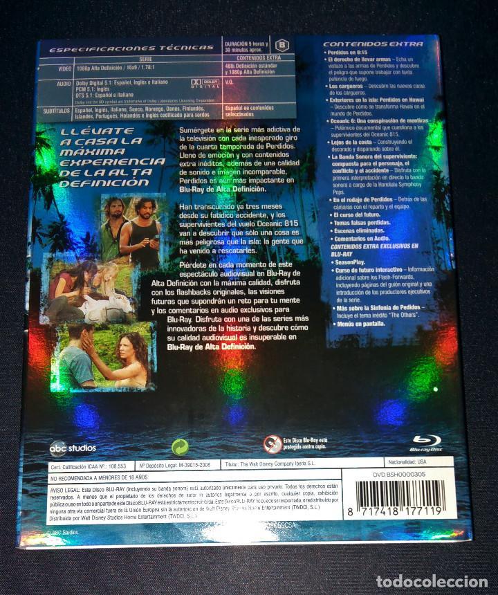 Cine: Perdidos (Lost) FUNDAS sin cajas ni discos Temporadas 4 5 Bluray Blu-ray Blu ray funda slipcover - Foto 3 - 110752379