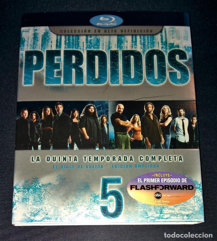 Cine: Perdidos (Lost) FUNDAS sin cajas ni discos Temporadas 4 5 Bluray Blu-ray Blu ray funda slipcover - Foto 4 - 110752379