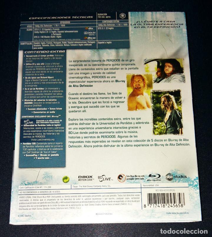 Cine: Perdidos (Lost) FUNDAS sin cajas ni discos Temporadas 4 5 Bluray Blu-ray Blu ray funda slipcover - Foto 5 - 110752379