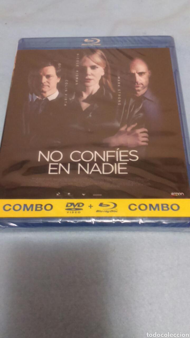 BLURAY+DVD. NO CONFÍES EN NADIE. PRECINTADO. (Cine - Películas - Blu-Ray Disc)
