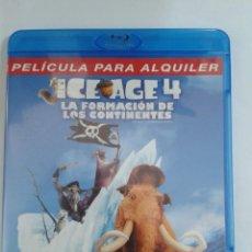 Cine: ICE AGE 4 LA FORMACION DE LOS CONTINENTES. BLU RAY. Lote 111211919