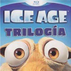 Cine: ICE AGE - TRILOGIA (BLU-RAY). Lote 112946775