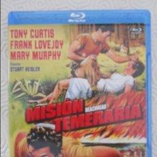 Cine: MISION TEMERARIA. BLURAY DE LA PELICULA DE STUART HEISLER. CON TONY CURTIS, FRANK LOVEJOY Y MARY MUR. Lote 113558795