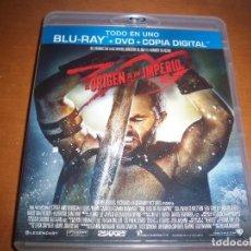 Cine: PACK DE LOS 300 ORIGEN DE UN DESTINO. BLU-RAY + DVD + COPIA DIGITAL. . Lote 114913935