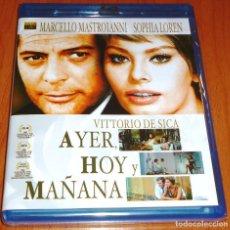 Cine: AYER HOY Y MAÑANA / BLURAY DISC - PRECINTADA. Lote 115935687