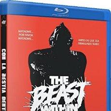 Cine: CON LA BESTIA DENTRO (BLU-RAY) (THE BEAST WITHIN). Lote 116052291