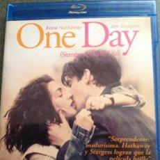 Cine: LONE SCHERFIG? ONE DAY (SIEMPRE EL MISMO DÍA). ANNE HATHAWAY. JIM STURGESS. Lote 116069003