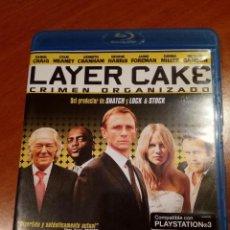 Cine: LAYER CAKE. CRIMEN ORGANIZADO (BLURAY). Lote 116131511