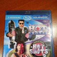 Cine: PACK HOT SHOTS 1 & 2 (BLURAY). Lote 116131619