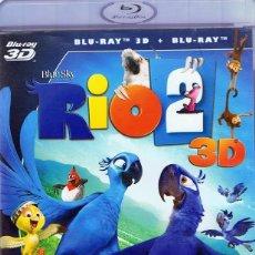 Cine: RÍO 2 BLU-RAY 3D + BLU-RAY . Lote 116939635