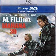 Cine: AL FILO DEL MAÑANA BLU-RAY 3D + BLU-RAY. Lote 116939927