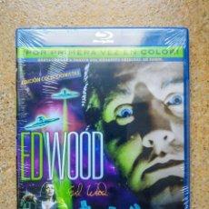 Cine: PACK ED WOOD: PLAN 9+LA NOVIA DEL MONSTRUO BLU-RAY. Lote 117179051