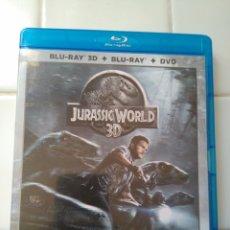 Cine: JURASSIC WORLD 3D - BLU-RAY - SOLO EL DISCO 3D. Lote 117716867