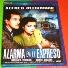 Cine: ALARMA EN EL EXPRESO / THE LADY VANISHES - ALFRED HITCHCOCK BLURAY AREA B -PRECINTADA. Lote 118987367