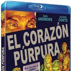 Cine: EL CORAZON PURPURA - DANA ANDREWS - BLU-RAY NUEVO PRECINTADO. Lote 120906598