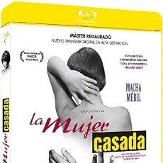 Cine: LA MUJER CASADA. BLU-RAY DISC. JEAN LUC GODARD. NUEVO. PRECINTADO. Lote 121530679