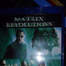 Cine: TRILOGIA MATRIX COMPLETA RELOADED REVOLUTIONS BLU-RAY EN CAJA ESPAÑOL E INGLES KEANU REEVES. Lote 121543251