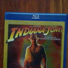 Cine: INDIANA JONES Y EL REINO DE LA CALAVERA DE CRISTAL BLU RAY. Lote 122118603