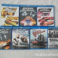 Cine: LOTE BLU-RAY SAGA THE FAST AND THE FURIOUS. Lote 123420911