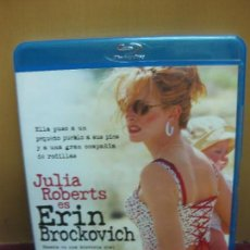 Cine: ERIC BROCKOVICH. JULIA ROBERTS. CONTENIDO EXTRA. . BLU-RAY DISC. . Lote 124721947