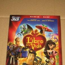 Cine: (SIN ABRIR) EL LIBRO DE LA VIDA __ BLU-RAY 3D + BLU-RAY. Lote 125292867