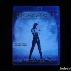 Cine: UNDERWORLD LA REBELION DE LOS LICANTROPOS BLU-RAY + DVD + COPIA DIGITAL COMO NUEVOS. Lote 128360063