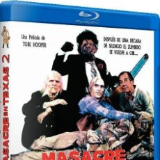 Cine: MASACRE EN TEXAS 2 (THE TEXAS CHAINSAW MASSACRE PART 2) (BLU-RAY). Lote 128406986