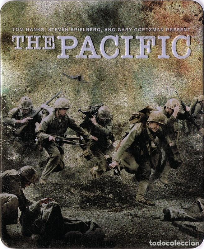 THE PACIFIC TOM HANKS ESTUCHE METÁLICO (Cine - Películas - Blu-Ray Disc)