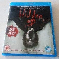 Cine: HIDDEN 3D BLU RAY BLU RAY 3D TERROR PS3 PS4. Lote 129732795