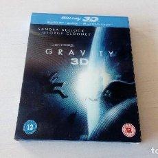 Cine: GRAVITY 3D BLU RAY BLU RAY 3D ACCION PS3 PS4. Lote 129733843