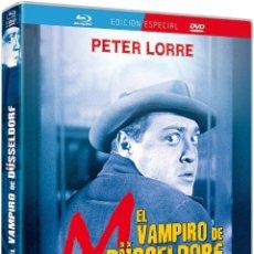 Cine: M. EL VAMPIRO DE DÜSSELDORF [BLU-RAY]. Lote 129976399