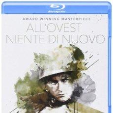 Cine: NIENTE DI NUOVO SUL FRONTE OCCIDENTALE SIN NOVEDAD EN EL FRENTE [BLU-RAY] (BLU-RAY). Lote 129980023
