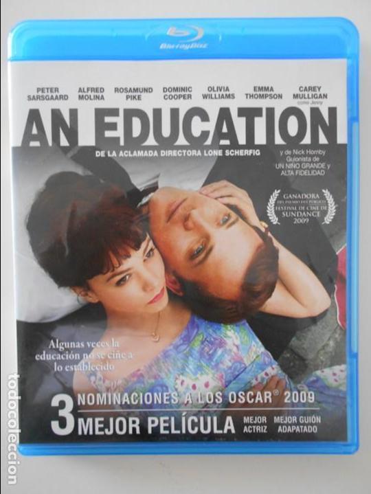 AN EDUCATION. BLURAY DE LA PELICULA DE LONE SCHERFIG. CON PETER SARSGAARD, ALFRED MOLINA, ROSAMUND P (Cine - Películas - Blu-Ray Disc)