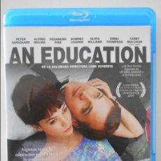 Cine: AN EDUCATION. BLURAY DE LA PELICULA DE LONE SCHERFIG. CON PETER SARSGAARD, ALFRED MOLINA, ROSAMUND P. Lote 131778710