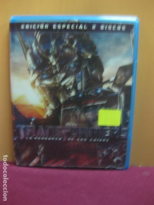 TRANSFORMERS. EDICION ESPECIAL 2 DISCOS CON CARACTERISTICAS ESPECIALES. BLU-RAY DISC. (Cine - Películas - Blu-Ray Disc)