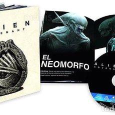 Cine: ALIEN COVENANT EDICIÓN ESPECIAL COLECCIONISTA LIBRO DE LUJO BLU RAY CON EXTRAS. Lote 143150653