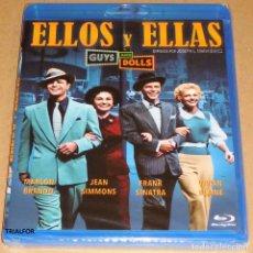 Cine: ELLOS Y ELLAS / GUYS AND DOLLS JOSEPH L. MANKIEWICZ -PRECINTADA. Lote 133677862