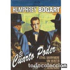 Cine: EL CUARTO PODER (BLU-RAY) DIRECTOR: RICHARD BROOKS ACTORES: HUMPHREY BOGART, ETHEL BARRYMORE. Lote 133713946