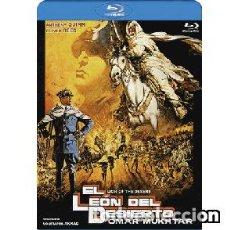 Cine: EL LEÓN DEL DESIERTO (BLU-RAY) DIRECTOR: MOUSTAPHA AKKAD ACTORES: ANTHONY QUINN, OLIVER REED. Lote 133721270