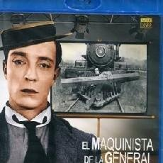 Cine: EL MAQUINISTA DE LA GENERAL (BLU-RAY) DIRECTOR: CLYDE BRUCKMAN ACTORES: BUSTER KEATON, MARION MACK. Lote 133721646