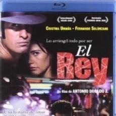 Cine: EL REY (BLU-RAY) DIRECTOR: JOSE ANTONIO DORADO ACTORES: FERNANDO SOLORZANO, CRISTINA UMAÑA. Lote 133722026