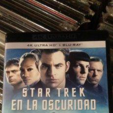 Cine: STAR TREK EN LA OSCURIDAD 4K ULTRA HD + BLU-RAY. Lote 133758426